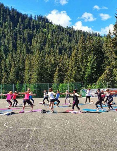 Pilates outdoor